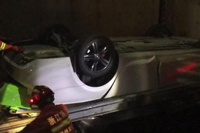 浙江一自动停车场发生坠车事故致人死亡 已被禁止使用