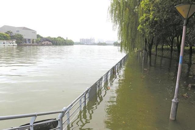 江苏省水利厅升级苏南运河无锡段洪水黄色预警