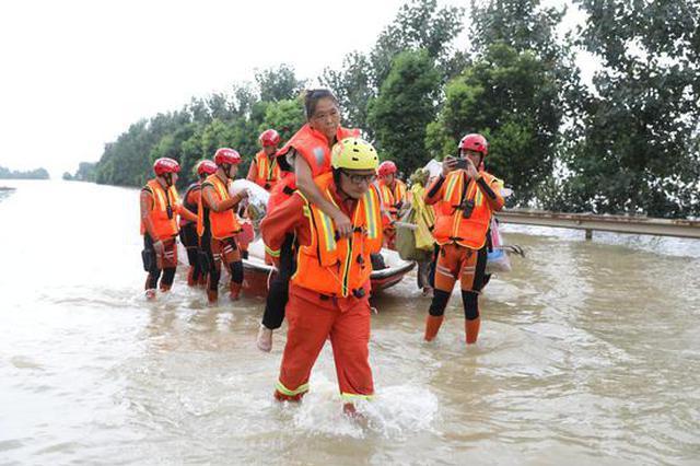 江西九江永修县三角联圩溃堤  2万余村民紧急撤离