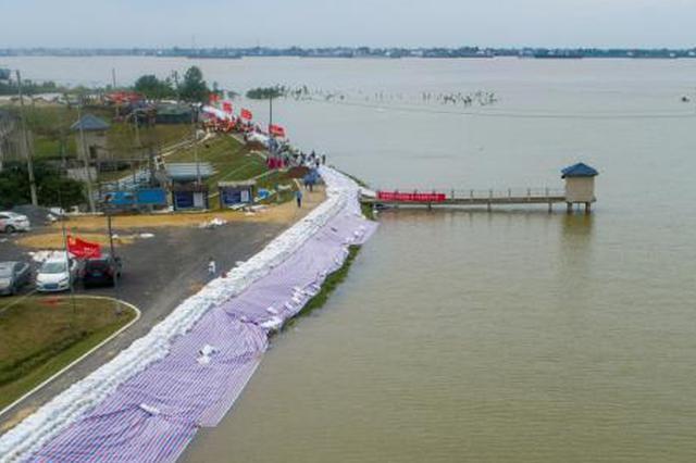 江苏省水利厅升级5个洪水预警 石臼湖洪水红色预警