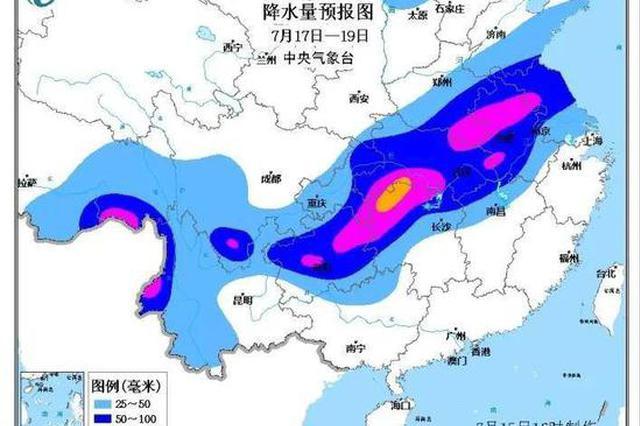 江苏气象再发暴雨警报 南京梅雨打破本世纪最长纪录
