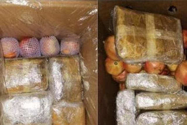 冰毒藏于水果箱,云南昭通警方缴毒7公斤