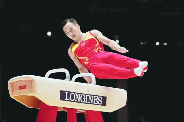 全国体操锦标赛江苏男团夺冠 肖若腾第一进全能决赛