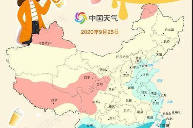 """好天气""""复制粘贴"""" 江苏北部周五早上有大雾"""