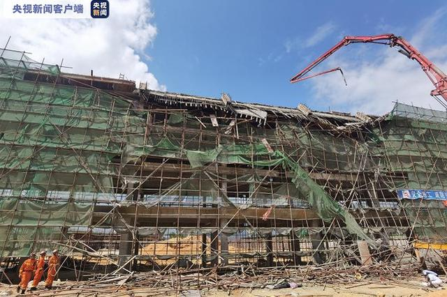广东陆河县一工地发生坍塌 7人遇难