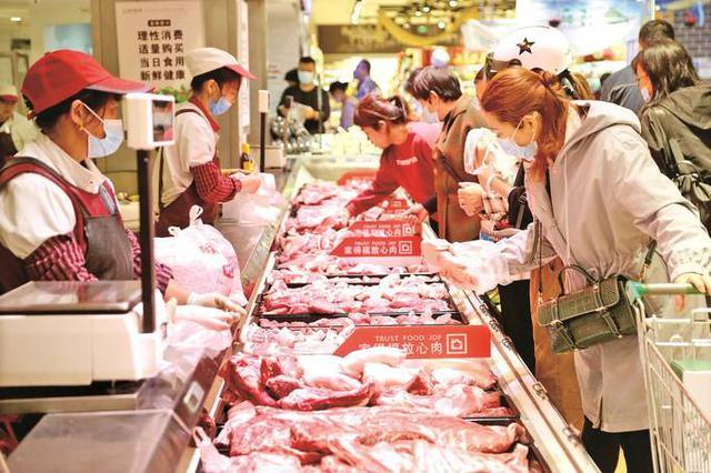"""猪肉价格降了 CPI重回""""1""""时代"""