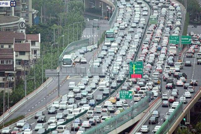 """上海发布""""外牌""""限行新规:工作日7时至20时多条高架路禁行"""