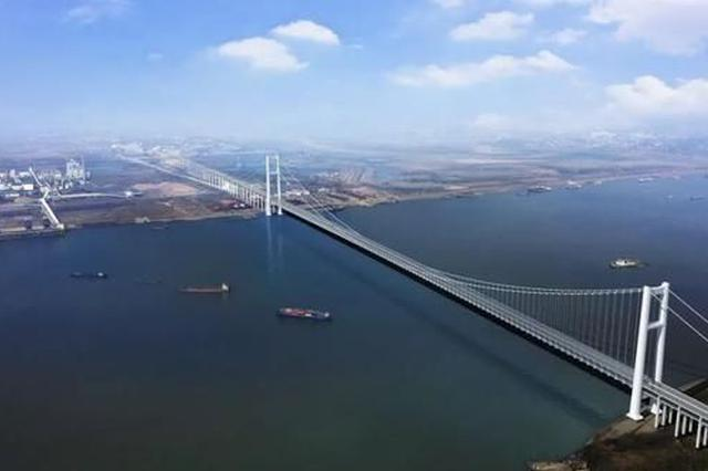 世界第一!明年江苏计划开建张皋过江通道