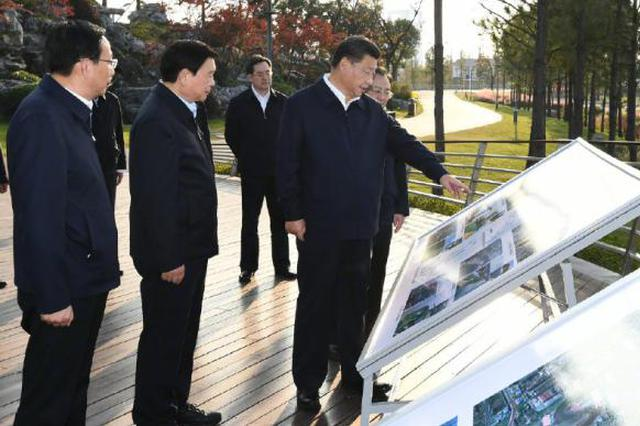 习近平在江苏考察时强调,贯彻新发展理念构建新发展