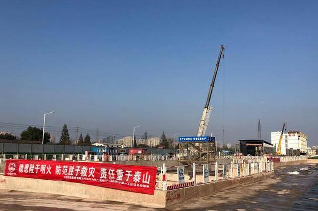 """南京地铁7号线 按下""""加速键""""  西善桥站月底完成"""