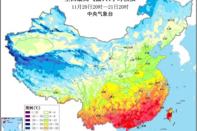 江苏本周多降水 周后期气温跌幅超10℃
