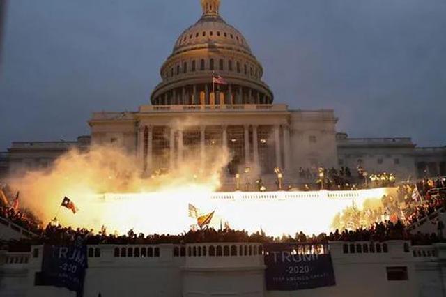 美国会大厦遇袭往事:上一次被攻破还是200年前遭英