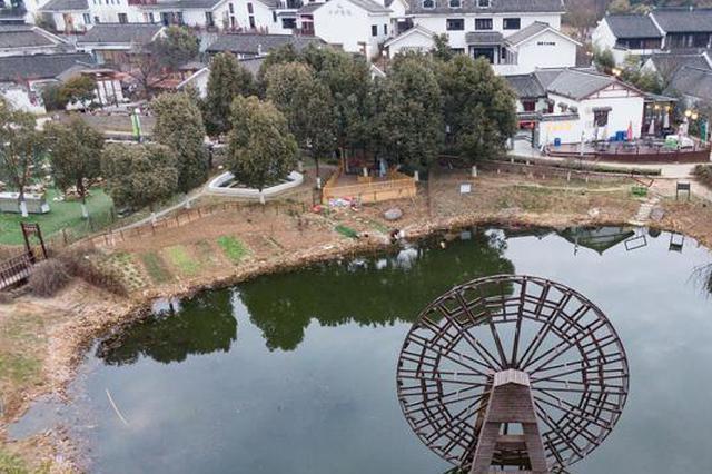 航拍南京不老村 感受世外桃源般的慢生活