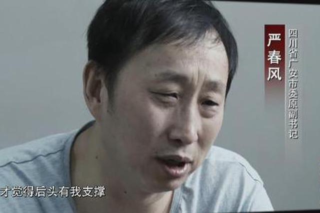 """""""严书记""""现身专题片:我如果再晚点落马 女儿可能更加跋扈"""