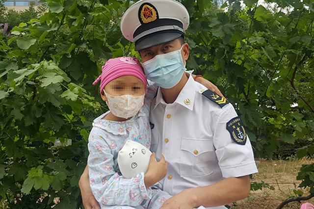 两次骨髓移植后,12岁的她想捐眼角膜为爸爸复明