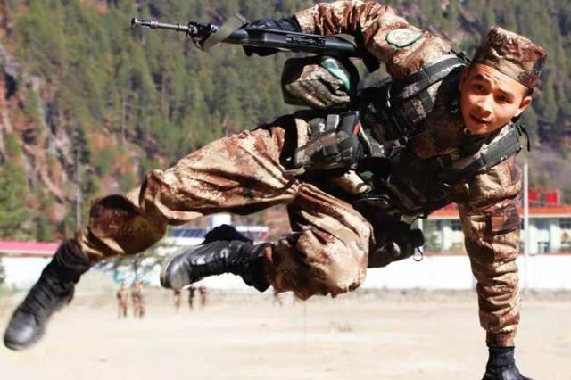 西藏军区某旅开训