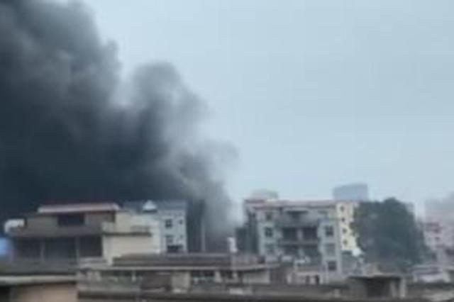 福州长乐区一染整厂发生火灾 目前已致6死7伤