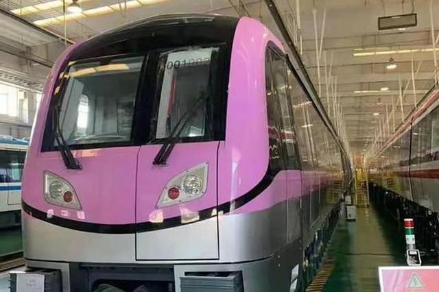 宁句城际列车曝光 车身颜色为美丽的杜若色
