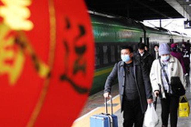2021年全国春运收官 预计共发送旅客8.7亿人次