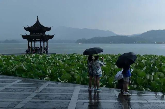 江苏入梅后首场雨 来势汹汹