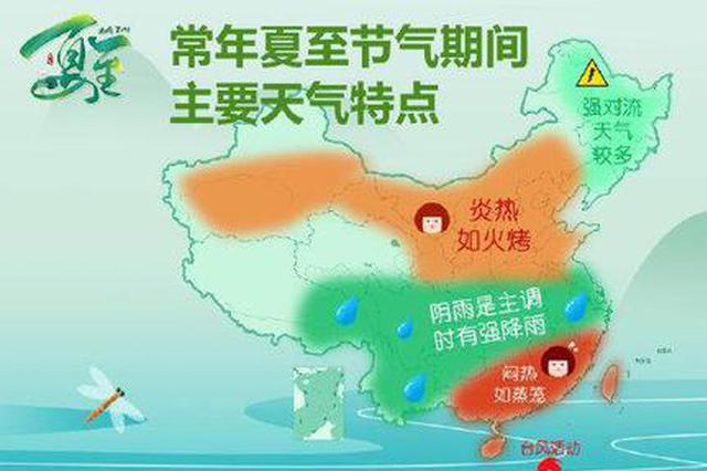夏至已至 江苏未来一周多晴天