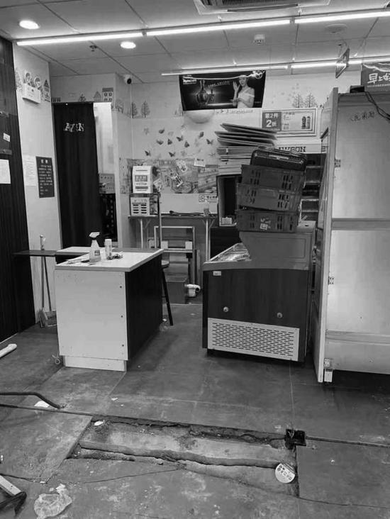 罗森便利店已停业三天