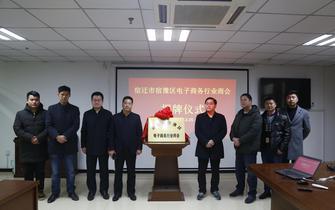 宿迁市宿豫区电子商务行业商会揭牌仪式圆满成功