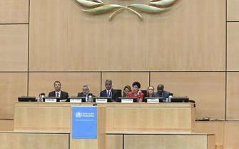 第72届世界卫生大会在瑞士日内瓦开幕