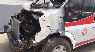 患者途中遇事故 司机属无证驾驶