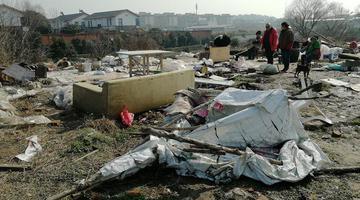 扬州城管围殴考古队员