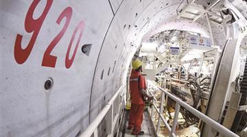 南京和燕路过江隧道取得重大进展