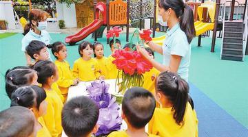 教育部:幼儿在园期间不建议戴口罩
