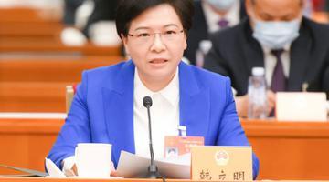 韩立明代表在江苏团发言