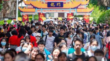 江苏2021年高考首日安全平稳顺利