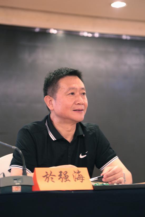 南京市城管局宣传教育处处长於强海