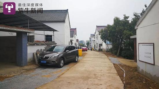 慢城小镇周边的村庄房屋