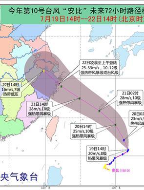 10号台风影响江苏 将出现大到暴雨