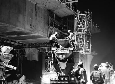 盐通高铁正在紧张建设中。 周古凯 何绍丰 摄 视觉江苏网供图
