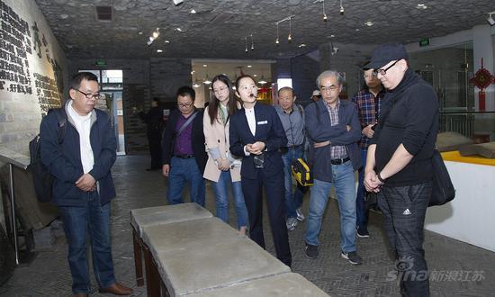 寻访嘉宾参观无锡窑群遗址博物馆