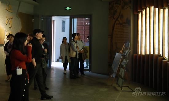 寻访嘉宾参观大运河记忆馆