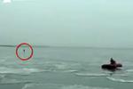 男子到结冰的海面上看日出 结果冰化开了他越漂越远