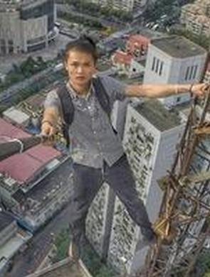 国内高空挑战第一人被曝失手坠楼