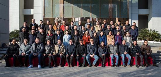 南京新媒体人士联谊会一届二次理事会全体代表