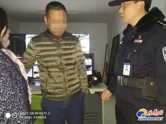 意图轻生的男子被民警救下