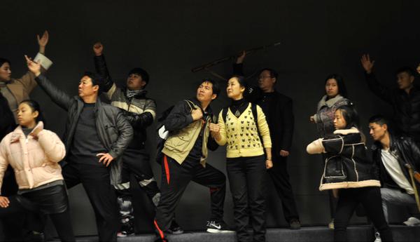 现代吕剧《英雄之铭》将于12月首演