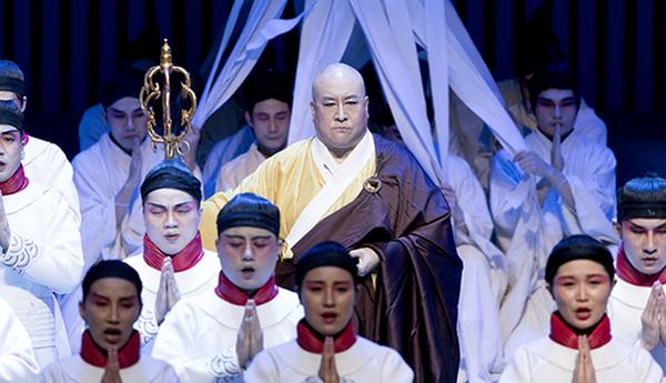 第三届中国歌剧节《鉴真东渡》在南京暴风雪中上演