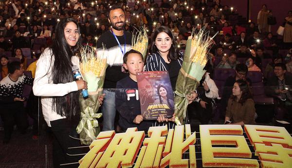 《神秘巨星》解锁南京首映礼 阿米尔汗新作观众笑泪齐飞