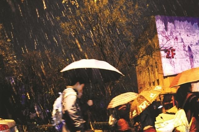 江苏发布暴雪黄色预警 明天全省最低温零下6℃