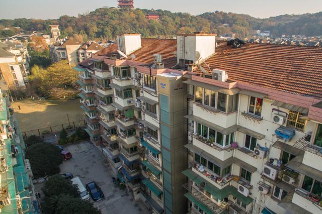 南京去年完成240个老旧小区整治 破落户变高大上