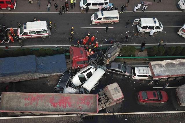 南京高速交通事故死亡人数同比下降7.46%